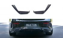 Maxton Design Boční lišty zadního nárazníku Mercedes E AMG-Line W213 Coupe - texturovaný plast