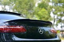 Maxton Design Lišta víka kufru Mercedes E AMG-Line W213 Coupe - texturovaný plast