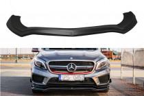 Maxton Design Spoiler předního nárazníku Mercedes GLA 45 AMG (X156) - texturovaný plast