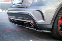Maxton Design Spoiler zadního nárazníku Mercedes GLA 45 AMG (X156) - texturovaný plast