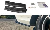 Maxton Design Boční lišty zadního nárazníku Mercedes GLE AMG-Line (W166) - texturovaný plast