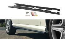 Maxton Design Prahové lišty Mercedes GLE AMG-Line (W166) - texturovaný plast