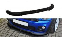 Maxton Design Spoiler předního nárazníku Mini John Cooper Works (R56) - texturovaný plast