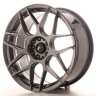 Japan Racing JR18 19x8,5 ET40 5x112/114,3 Hiper Black Alu kola