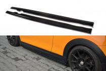 Maxton Design Prahové lišty Mini Cooper S (F56) 3-dveřový - texturovaný plast
