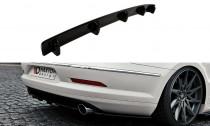 Maxton Design Spoiler zadního nárazníku s příčkami VW Passat CC R36/R-Line - texturovaný plast