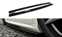 Maxton Design Prahové lišty VW Passat CC R36/R-Line - texturovaný plast