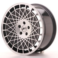 Japan Racing JR14 18x8,5 ET40 5x112 Black Machined Alu kola