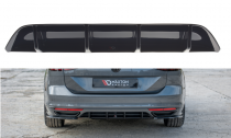 Maxton Design Spoiler zadního nárazníku VW Passat B8 R-Line - texturovaný plast
