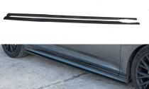 Maxton Design Prahové lišty VW Passat B8 R-Line - texturovaný plast
