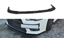 Maxton Design Spoiler předního nárazníku Mitsubishi Lancer EVO X V.1 - texturovaný plast