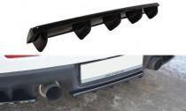 Maxton Design Spoiler zadního nárazníku s příčkami Mitsubishi Lancer EVO X - texturovaný plast