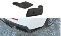 Maxton Design Boční lišty zadního nárazníku Mitsubishi Lancer EVO X - texturovaný plast