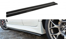 Maxton Design Prahové lišty Mitsubishi Lancer EVO X - texturovaný plast
