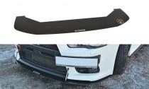 Maxton Design Spoiler předního nárazníku Racing Mitsubishi Lancer EVO X V.2