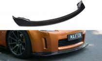 Maxton Design Spoiler předního nárazníku Nissan 350Z - texturovaný plast