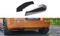 Maxton Design Boční lišty zadního nárazníku Nissan 350Z - texturovaný plast