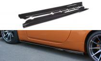 Maxton Design Prahové lišty Nissan 350Z - texturovaný plast