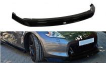 Maxton Design Spoiler předního nárazníku Nissan 370Z - texturovaný plast