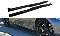 Maxton Design Prahové lišty Nissan 370Z - texturovaný plast
