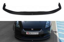 Maxton Design Spoiler předního nárazníku Nissan GT-R (R35) - texturovaný plast