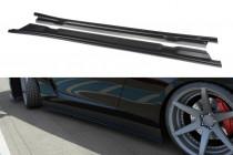 Maxton Design Prahové lišty Nissan GT-R (R35) - texturovaný plast