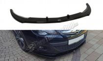 Maxton Design Spoiler předního nárazníku Opel Astra J GTC - texturovaný plast