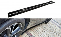 Maxton Design Prahové lišty Opel Astra J GTC - texturovaný plast