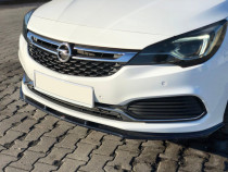 Maxton Design Spoiler předního nárazníku Opel Astra K OPC-Line V.1 - texturovaný plast