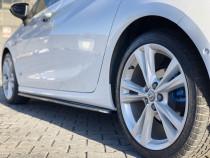 Maxton Design Prahové lišty Opel Astra K OPC-Line - texturovaný plast
