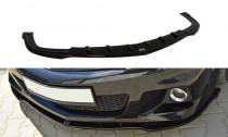 Maxton Design Spoiler předního nárazníku Opel Astra H OPC - texturovaný plast