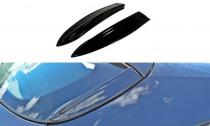 Maxton Design Rámování zadního okna Opel Astra H OPC - texturovaný plast