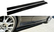 Maxton Design Prahové lišty Opel Astra H OPC - texturovaný plast