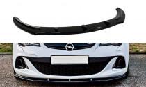 Maxton Design Spoiler předního nárazníku Opel Astra J OPC V.1 - texturovaný plast