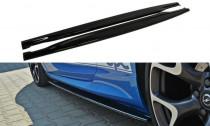 Maxton Design Prahové lišty Opel Astra J OPC - texturovaný plast