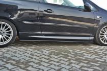 Maxton Design Prahové lišty Opel Corsa D OPC - texturovaný plast