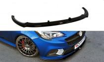 Maxton Design Spoiler předního nárazníku Opel Corsa E OPC V.1 - texturovaný plast