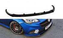 Maxton Design Spoiler předního nárazníku Opel Corsa E OPC V.2 - texturovaný plast