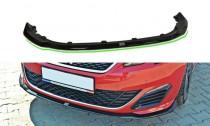 Maxton Design Spoiler předního nárazníku Peugeot 308 GTI Mk2 V.1 - texturovaný plast