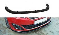 Maxton Design Spoiler předního nárazníku Peugeot 308 GTI Mk2 V.2 - texturovaný plast
