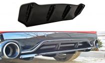 Maxton Design Spoiler zadního nárazníku s příčkami Peugeot 308 GTI Mk2 - texturovaný plast