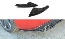 Maxton Design Boční lišty zadního nárazníku Peugeot 308 GTI Mk2 - texturovaný plast
