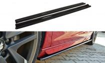 Maxton Design Prahové lišty Peugeot 308 GTI Mk2 - texturovaný plast