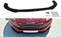 Maxton Design Spoiler předního nárazníku Peugeot RCZ Facelift - texturovaný plast