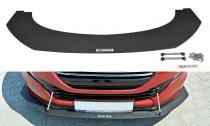 Maxton Design Spoiler předního nárazníku Racing Peugeot RCZ Facelift