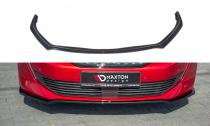 Maxton Design Spoiler předního nárazníku Peugeot 508 Mk2 V.1 - texturovaný plast