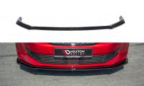 Maxton Design Spoiler předního nárazníku Peugeot 508 Mk2 V.2 - texturovaný plast