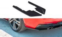 Maxton Design Boční lišty zadního nárazníku Peugeot 508 SW Mk2 - texturovaný plast