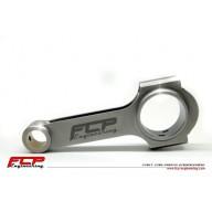 Kované ojnice pro kované písty pro 2,0 TFSI EA113 20mm pístní čep FCP Engineering