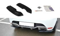 Maxton Design Boční lišty zadního nárazníku Renault Clio RS Mk4 - texturovaný plast